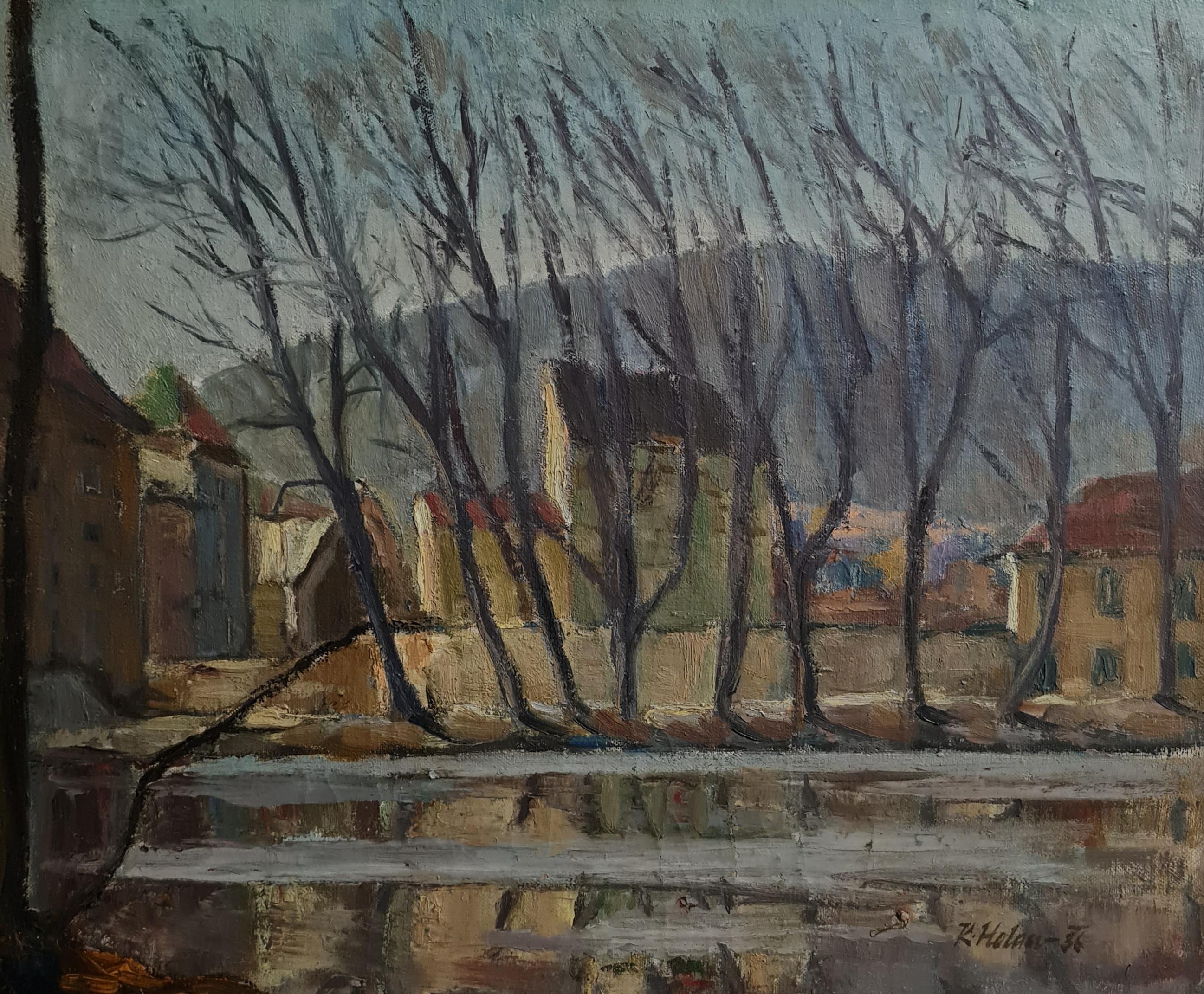 olej, plátno   45 x 55   rok   1936
