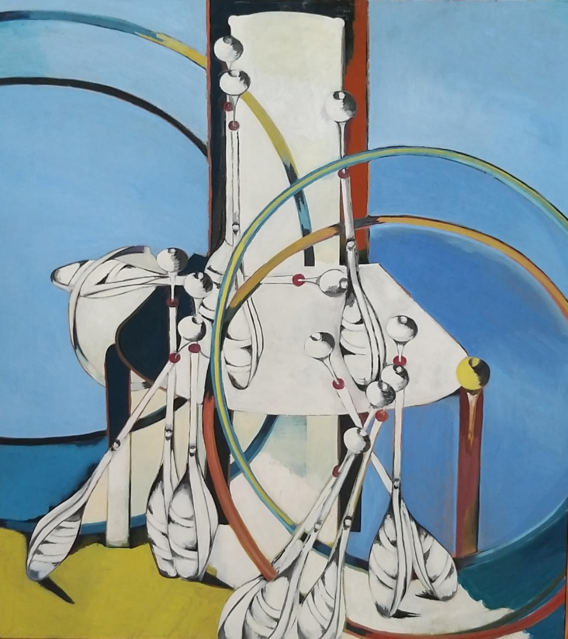 olej, plátno   100 x 90    rok 1990