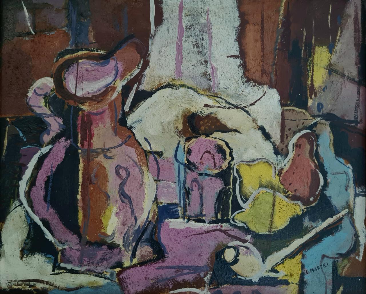 olej  plátno   41x50     rok 1981