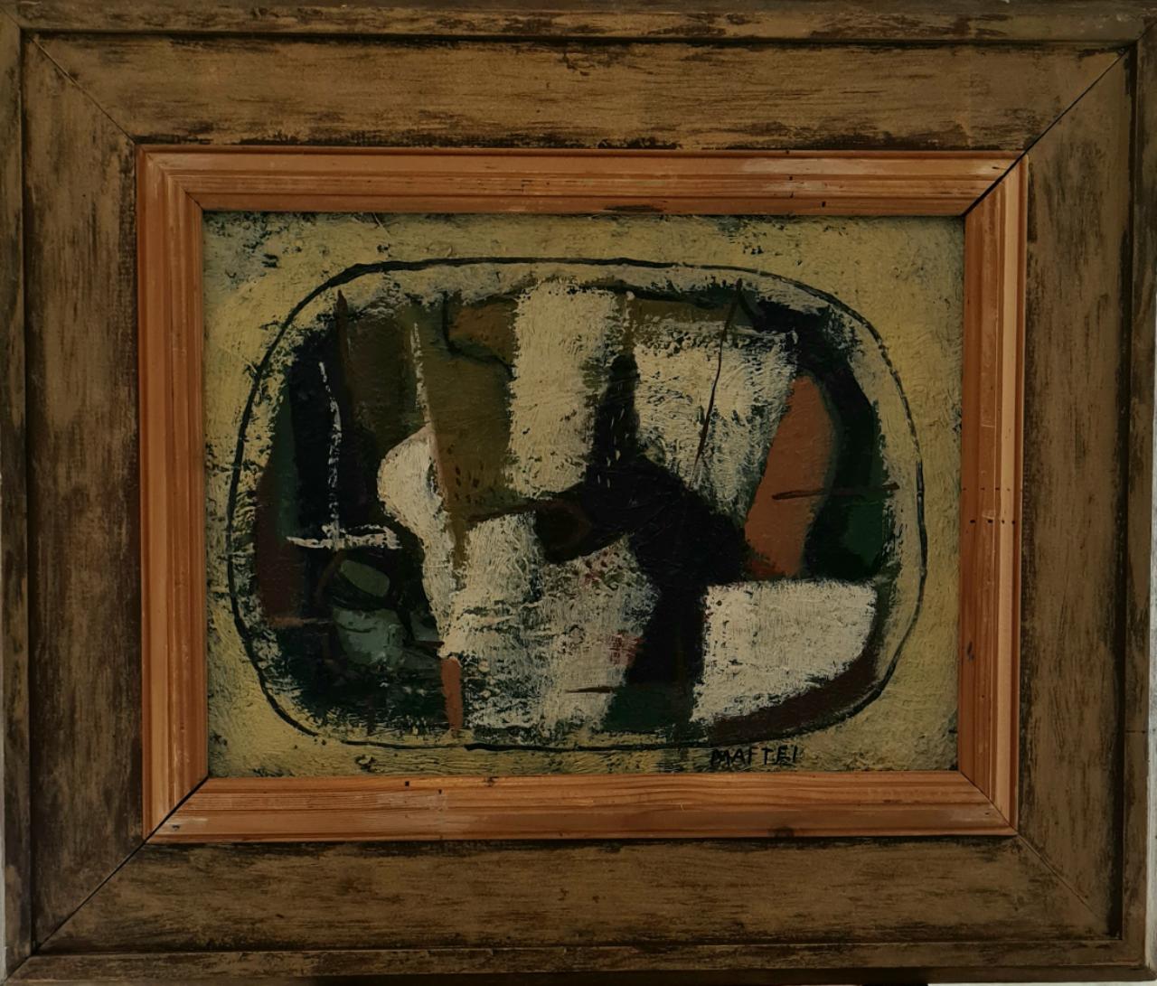 olej  plátno  rok   1980