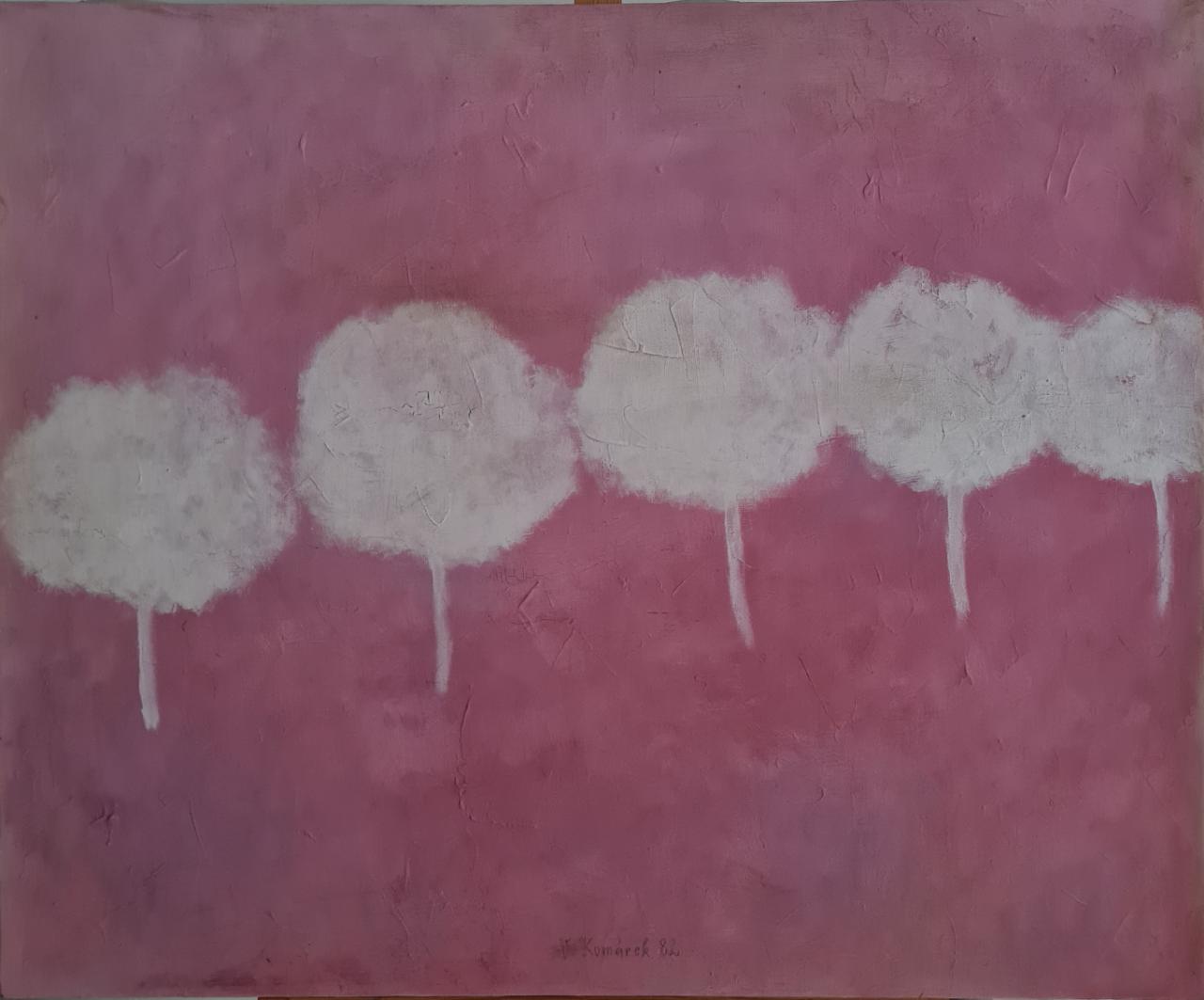 Olej, plátno    85x70    rok  1982